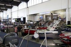 Łodzie dla sprzedaży przy Łódkowatym expo Dallas TX 2017 Zdjęcia Stock