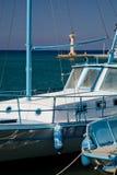 łodzie greckie fotografia royalty free