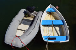 łodzie oszczędnościowe Zdjęcia Royalty Free