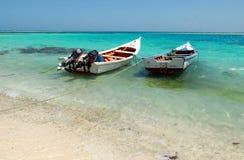 łodzie suną połów dwa Obraz Stock