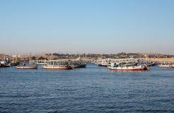 łodzie turystyczne Zdjęcia Stock