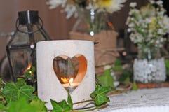 Łomotać stołowego dekoracja dzień ślubu Obraz Royalty Free