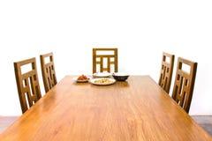 Łomotanie stół Fotografia Royalty Free