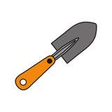 Łopaty ogrodnictwa narzędzie Zdjęcia Stock
