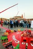 Łowić dla butelek w Marrakesh Obrazy Royalty Free
