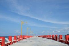 Łowić most Zdjęcie Royalty Free