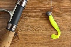 Łowić nęcenie, prącie i rolkę, Obraz Stock