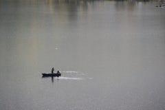 Łowić w fjord Zdjęcie Stock