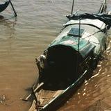 Łowić w Mekong rzece Fotografia Royalty Free