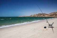 Łowić w morzu Obraz Stock