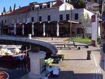 Łowi złapanego od Adriatyckiego morza, Cavtat, Chorwacja obraz royalty free