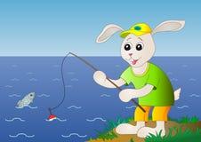 łowi zając ilustracji