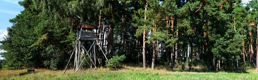 łowiecka kryjówki panorama Fotografia Stock