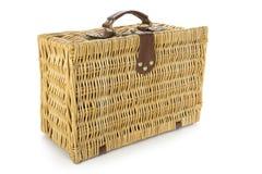 Łozinowa walizka Obraz Royalty Free