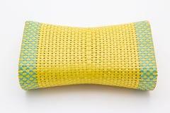 Łozinowa wyplatająca poduszka Obraz Stock