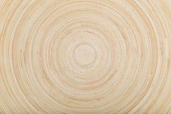 Łozinowi handmade abstraktów okręgi, powierzchnia drewniany talerz Obraz Stock