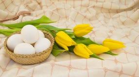 łozinowi koszykowi jajka obrazy royalty free