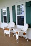 Łozinowi krzesła Fotografia Royalty Free
