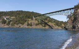 Łudzenie przepustki most zdjęcie royalty free