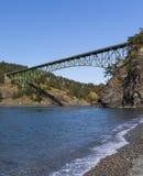 Łudzenie przepustki most zdjęcie stock