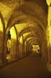 łuków kościół wejście stary Fotografia Stock