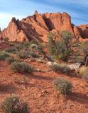 łuków krajowa odsłaniania parka czerwieni skała zdjęcie royalty free