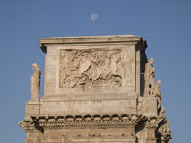 Łuk Constantine, Rzym, Włochy Zdjęcia Royalty Free