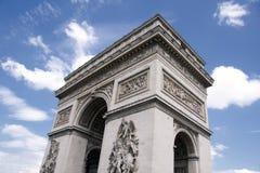 łuk De Triomphe Fotografia Royalty Free