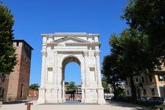 Łuk Gavi w Verona, Włochy (Arco dei Gavi) Zdjęcie Royalty Free