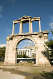 Łuk Hadrian, Ateny fotografia stock