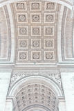 Łuk Triumf Paryż, Francja Obraz Royalty Free