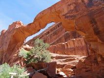 łuk wysklepia park narodowy ścianę Zdjęcia Royalty Free