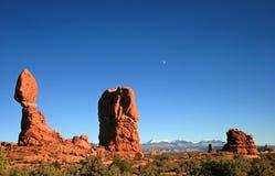 łuki balansowali park narodowy skałę Obraz Stock
