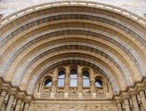 Łukowaty drzwi Londyński muzeum Fotografia Royalty Free