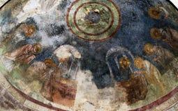 łukowaty kościół malująca krypta Obraz Royalty Free