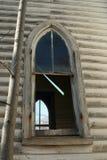 Łukowaty kościół window2 Zdjęcie Stock