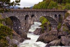 łukowaty most obraz royalty free