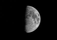 Łuna Na lato księżyc BW Obrazy Stock