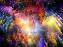 Łuna wszechświat Obraz Royalty Free