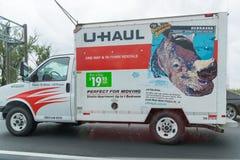 łup ciężarówka parkująca w Nowy Jork Fotografia Royalty Free