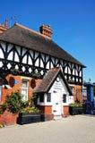 Łup stróżówka, Shrewsbury Zdjęcia Royalty Free
