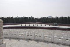 Łupek płonące kuchenki od Kółkowego kopa ołtarza przy świątynią niebo w Pekin zdjęcie stock