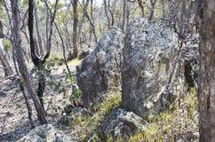 Łupkowa skała Zdjęcia Royalty Free