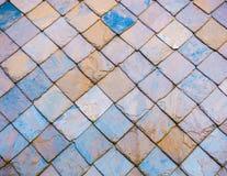Łupkowy dach Fotografia Stock