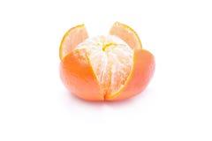 Łupy mandarynka zdjęcia stock