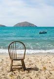 Łuski zatoki plaży sceny St Thomas USVI Fotografia Stock