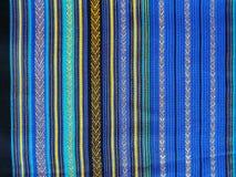Łuskowiec tkaniny złocisty tkactwo w Tajlandia Obraz Royalty Free