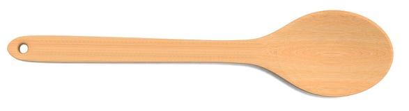 łyżka drewniana royalty ilustracja