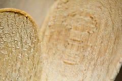 łyżki drewniane Fotografia Stock