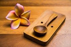 łyżki drewniane Fotografia Royalty Free